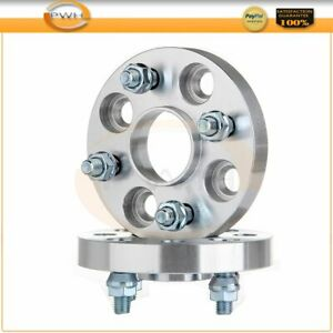 2x 20mm Hubcentric 4x100 Wheel Spacers For 1990 Honda Civic Lx 1 5l