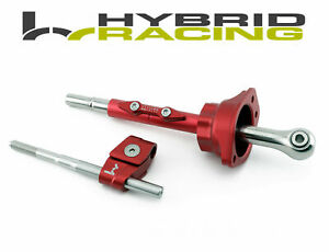 Hybrid Racing Short Shifter Assembly For Honda B18 B16 D16 Civic Integra Crx Red