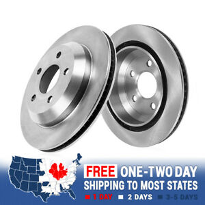 Rear Brake Rotors For 2005 2007 2008 2009 2010 2011 2012 2013 2014 Ford Mustang
