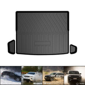 All Weather Car Rear Cargo Trunk Protector Mats For Jeep Cherkoee 2019 2020