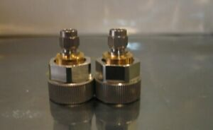 Amphenol Omni Spectra Apc 7 To Sma Male Adapter Set