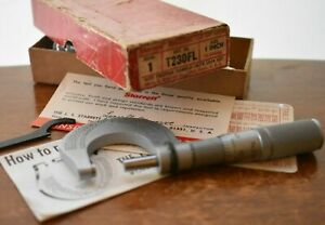 Starrett T230fl Micrometer With Box Wrench