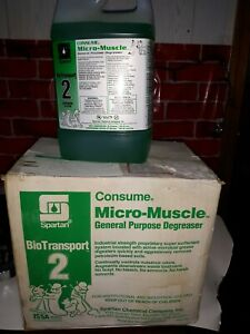 Spartan Consume Micro muscle Nature s Way General Degreaser 8 Liters 2 Gal