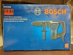 Bosch Rh540m Sds max 1 9 16 12 Amp Rotary Hammer Drill With Case