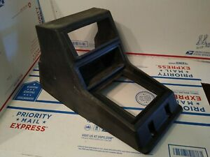 1980 1986 Datsun Nissan 720 Pickup Floor Center Console Black Plastic Genuine Oe