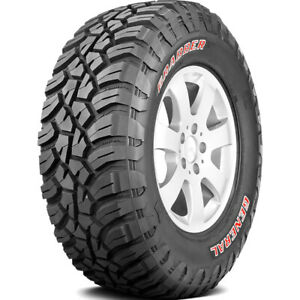 4 New General Grabber X3 Lt 265 75r16 Load C 6 Ply M t Mud Tires