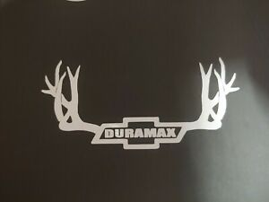 Vinyl Chevy Duramax Diesel Window Decals For Cars Truck Laptop Toolbox Sticker