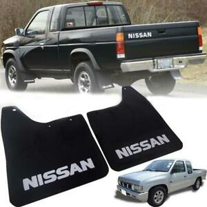 1986 1997 Left Right Front Mud Flaps Splash Guard For Nissan Hard Body