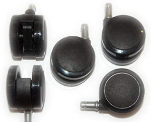 Herman Miller 2 5 inch Aeron Office Chair Replacement Caster Set For Hard Floor
