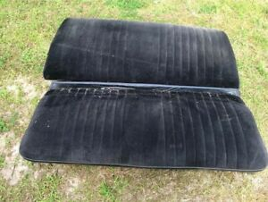 1968 To 1972 Convertible Abody Gm Chevelle Gto 442 Back Seat