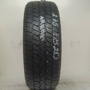 1 Tire 275 55 20 Goodyear Wrangler Trailmark 10 50 32 Tread No Repairs 111t