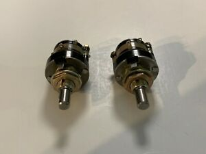 Two Grayhill 7 Position Rotary Selector Switches 1 4 Inch Shaft New