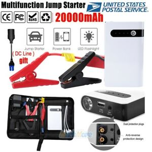20000mah Power Bank Booster Battery Charger Car Jump Starter Auto Emergency 2020