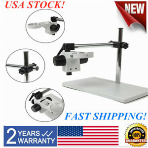Lab Microscope Multi axis Rotating Focusing Holders Table Boom Stands Heavy Duty
