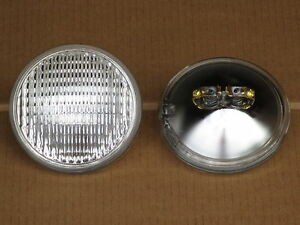2 6v Headlights For Allis Chalmers Light D10 D12 Wc Wd Wd45 Wf