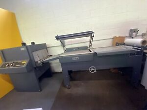 Shrink Wrap Machine Allied Automation Sergeant With Tunnel L sealer Usa Made