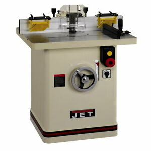 Jet 708326 Jws 35x5 1 35 in Industrial Wood Shaper 5hp 1ph Reversible Spindle