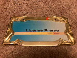 Twins Tag Holder Cruiser License Plate Frame Item Name Twins Gold Trucker Girl