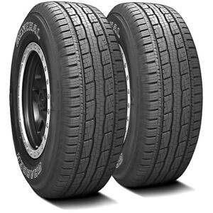2 New General Grabber Hts 60 245 70r17 110t A S All Season Tires