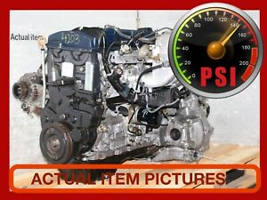 Jdm H23a 2 3l Dohc Vtec Blue Top Engine Automatic Transmission For Honda Accord