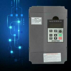 1 5kw 8a 220v Vfd Inverter Single Phase Speed Variable Frequency Drive At1 1500s