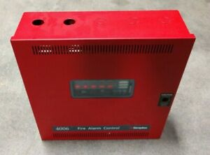 Simplex 4006 9101 Fire Alarm Control Panel Box Level 4 Access Unlocked Clean