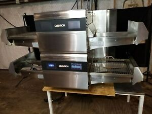 2016 Ovention Matchbox 1718 Electric Dbl Conveyor Pizza Ovens video Demo