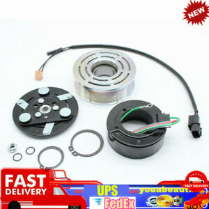 Ac Air Compressor Clutch Pulley Kit W bearing For Honda Civic 2006 11 1 8 Liter