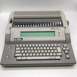 Smith Corona Pwp 2400 Personal Word Processor Model 5f Working