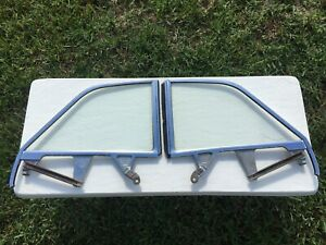 1959 59 1960 60 Chevy Chevrolet Impala Convertible Right Left Quarter Windows