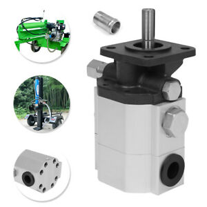 11 Gpm Hydraulic Log Splitter Pump 2 Stages Gear Faster Replacement For 4000 Psi