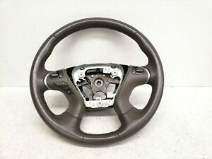2011 2013 Infiniti M37 M56 Base Driver Steering Wheel Brown Lot466 Oem