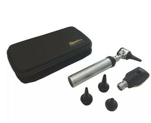 New Ra Bock Diagnostic Ophthalmoscope Otoscope Kit In Black Tortoise Shell Case
