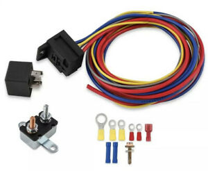 Mr Gasket 40210g Electric Water Pump Harness And Relay Wiring Kit