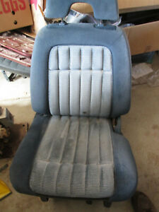1988 1995 Chevrolet Gmc Truck Drivers Bucket Seat Blue