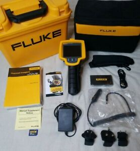 Barely Used Fluke Ti25 Thermal Imager 9 Hz 160x120 Imaging Camera W 20mm Lens