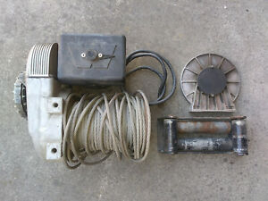 Warn 8274 Model Winch With Cable And Fairlead
