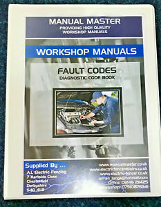 Diagnostic Fault Code Book manual Free Next Day Delivery