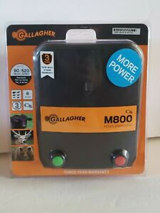 Gallagher M800 Fence Energizer G323524 New Factory Sealed