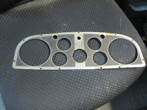 1934 1935 Cadillac Lasalle Instrument Face Plate