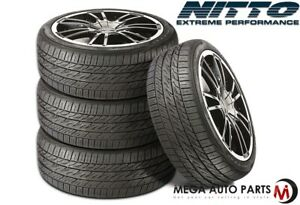 4 Nitto Motivo 275 40zr20 106y All Season Traction Ultra high Performance Tires