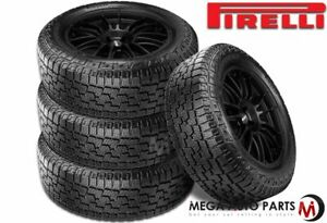 4 Pirelli Scorpion All Terrain Plus 265 70r16 112t A T Off Road Performance Tire