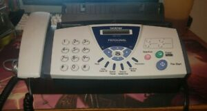 Brother Fax 575 Machine W New In Box Printer Cartridge And Manuals