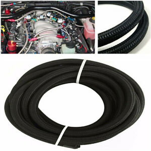 1m An 20 Transmission Oil Fuel Line Gas Radiator Nylon Steel Braided Hose 3 3ft