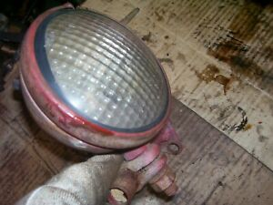 Original International Farmall 350 Utility Tractor 4 1 2 Work Light Brkt