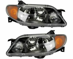 For Mazda Protege 2001 2002 2003 Pair New Left Right Headlight Assembly Tcp