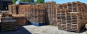 Choose Size Recycled Used Wooden Pallets Local Pickup Butler Indiana Or Freight