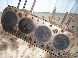 Vintage Allis Chalmers D 17 Gas Tractor engine Head Assembly 1960