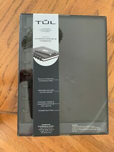 Tul Wireless Charging Notebook Black Leather Junior Size