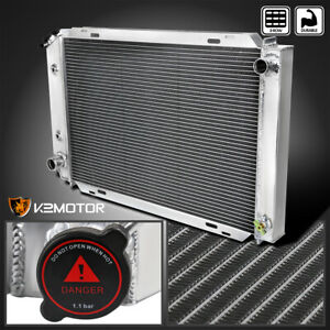 Fits 1979 1993 Ford Mustang 3 Row Core Mt Aluminum Cooling Radiator